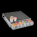 Keurig K-cup Storage Drawer Coffee Holder for 36 K-cups, Grey