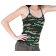 Camo Print Tank Top - Girls Juniors - Size: Large