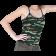 Camo Print Tank Top - Girls Juniors - Size: 2XL