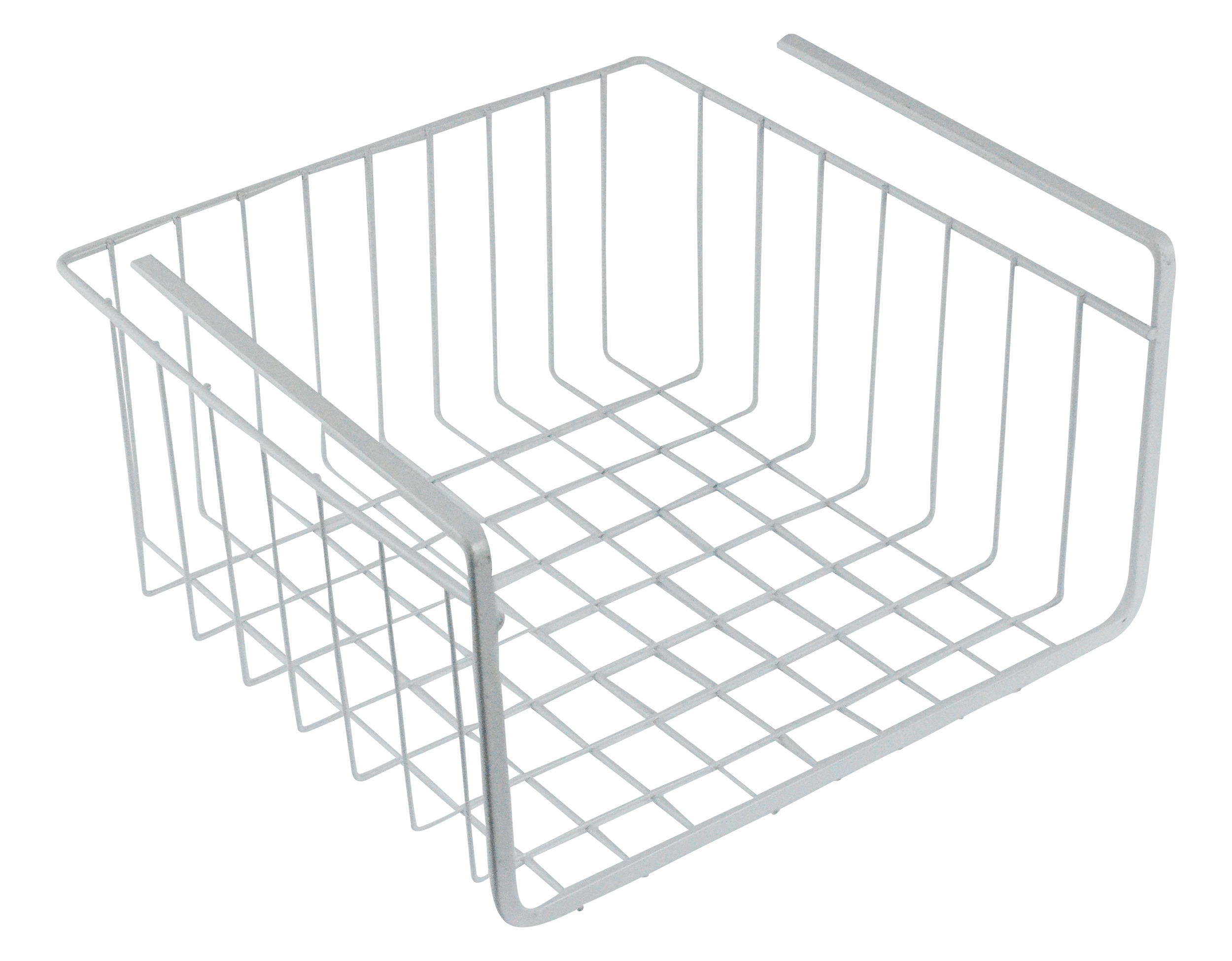 white wire under shelf storage organization basket 11. Black Bedroom Furniture Sets. Home Design Ideas