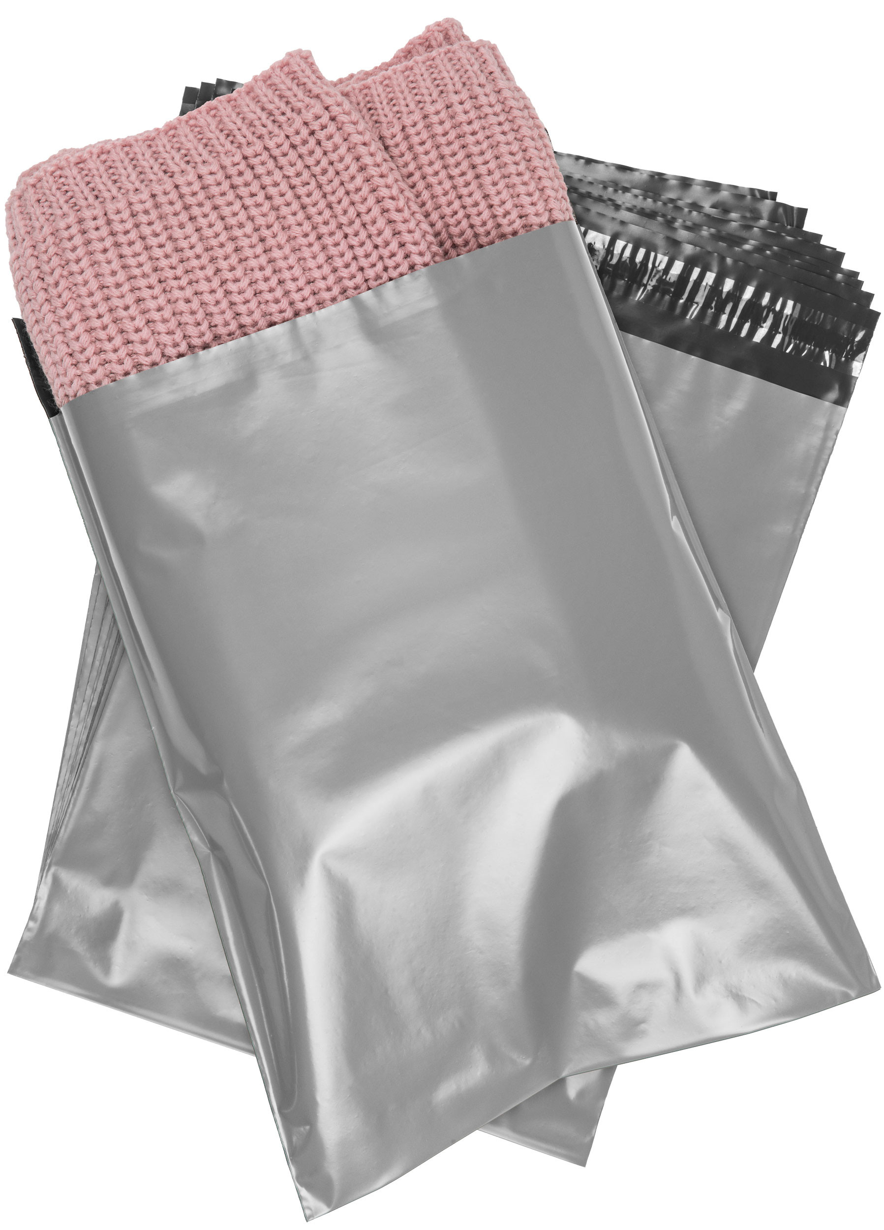1500 - #4 - 10x13 Poly Mailers Envelopes Self Sealing Bags - 2.4 Mil