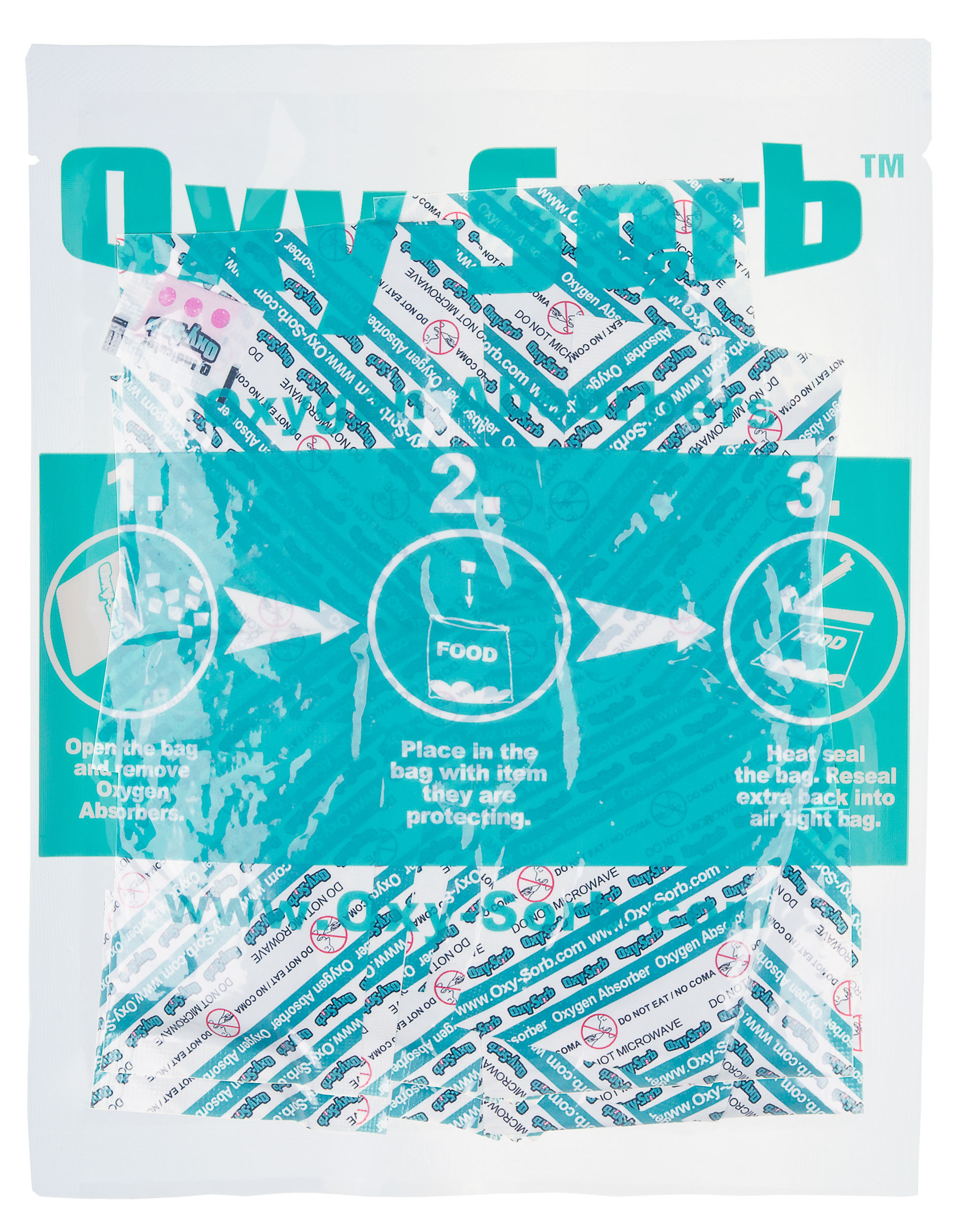 Oxy-Sorb 100-Pack Oxygen Absorber, 300cc