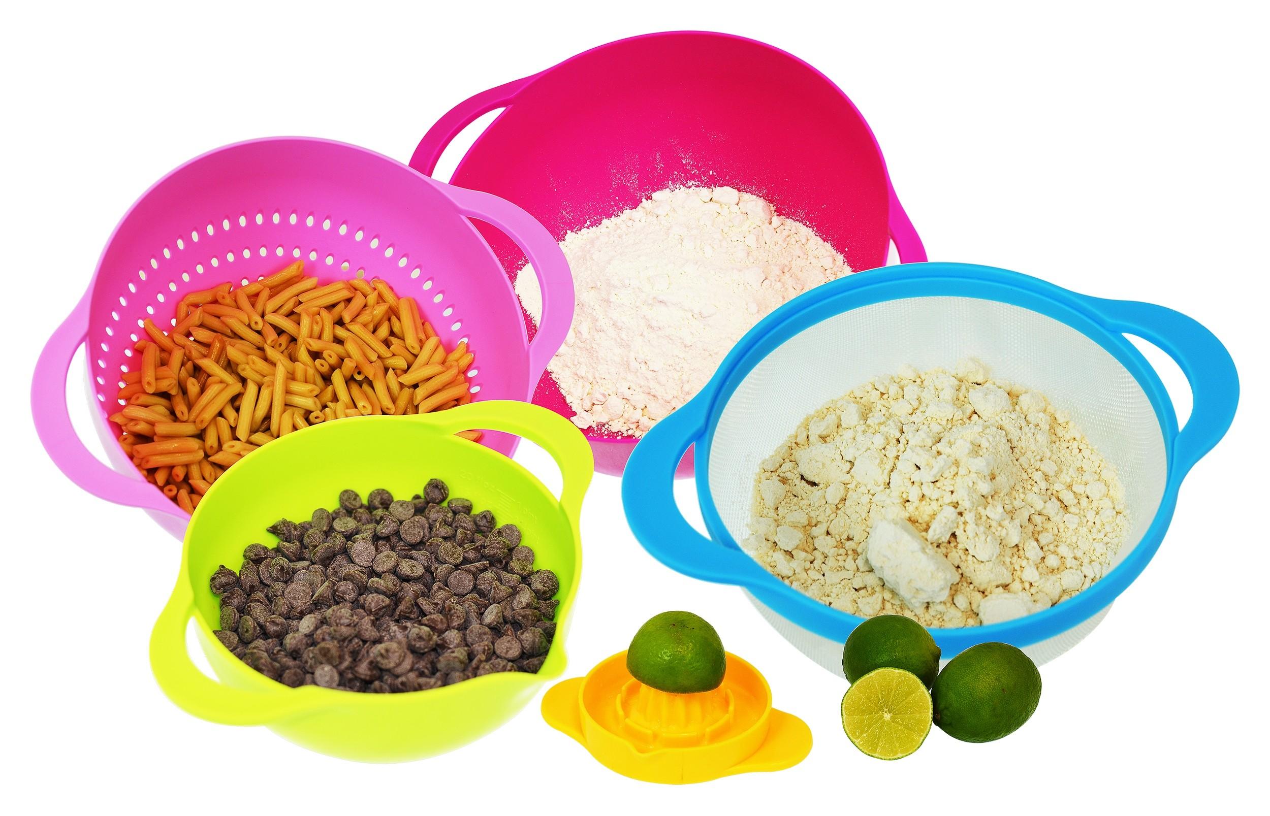 5 Piece Nesting Bowl Cooking Set
