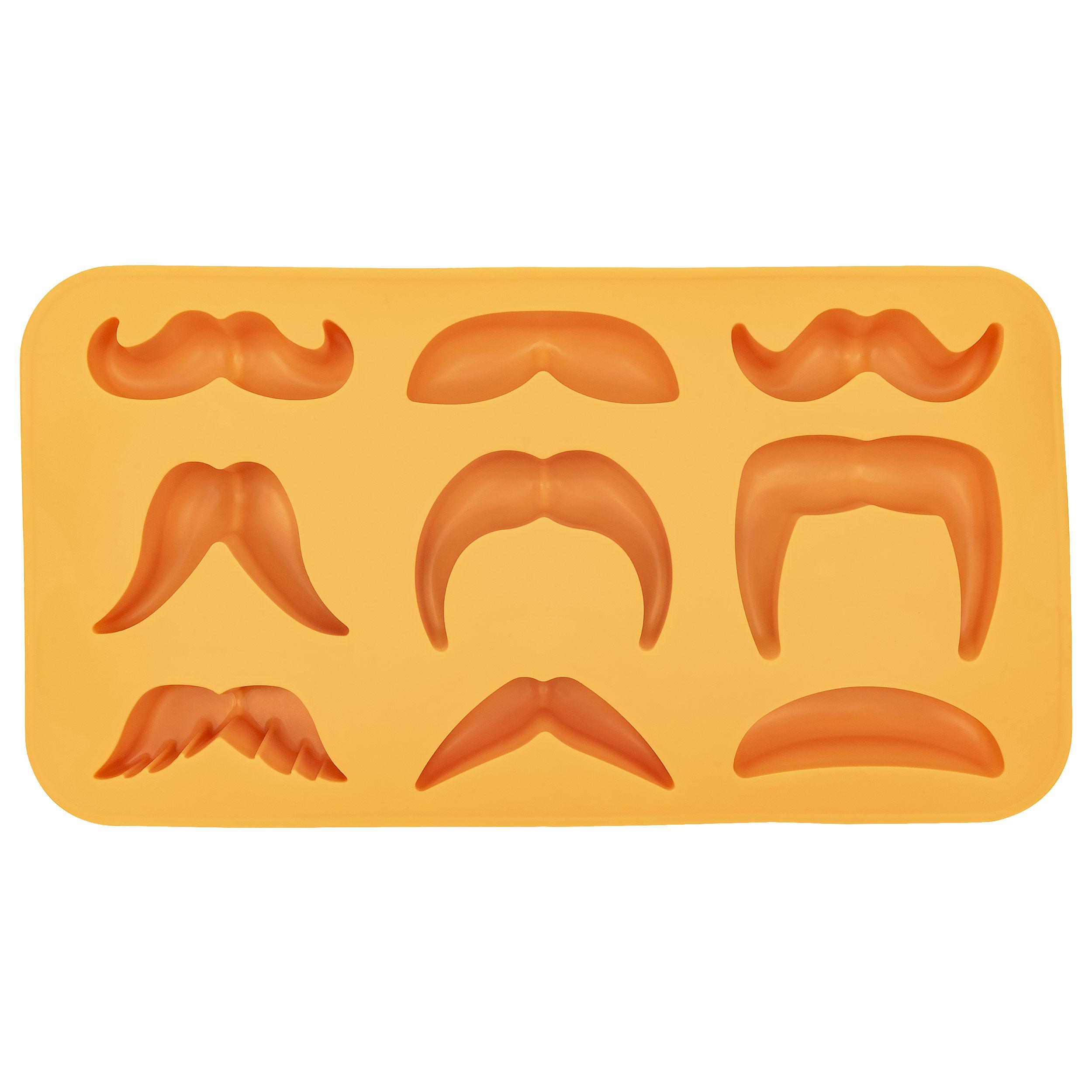 Moustache Variety Ice Cube Tray Thumb 250
