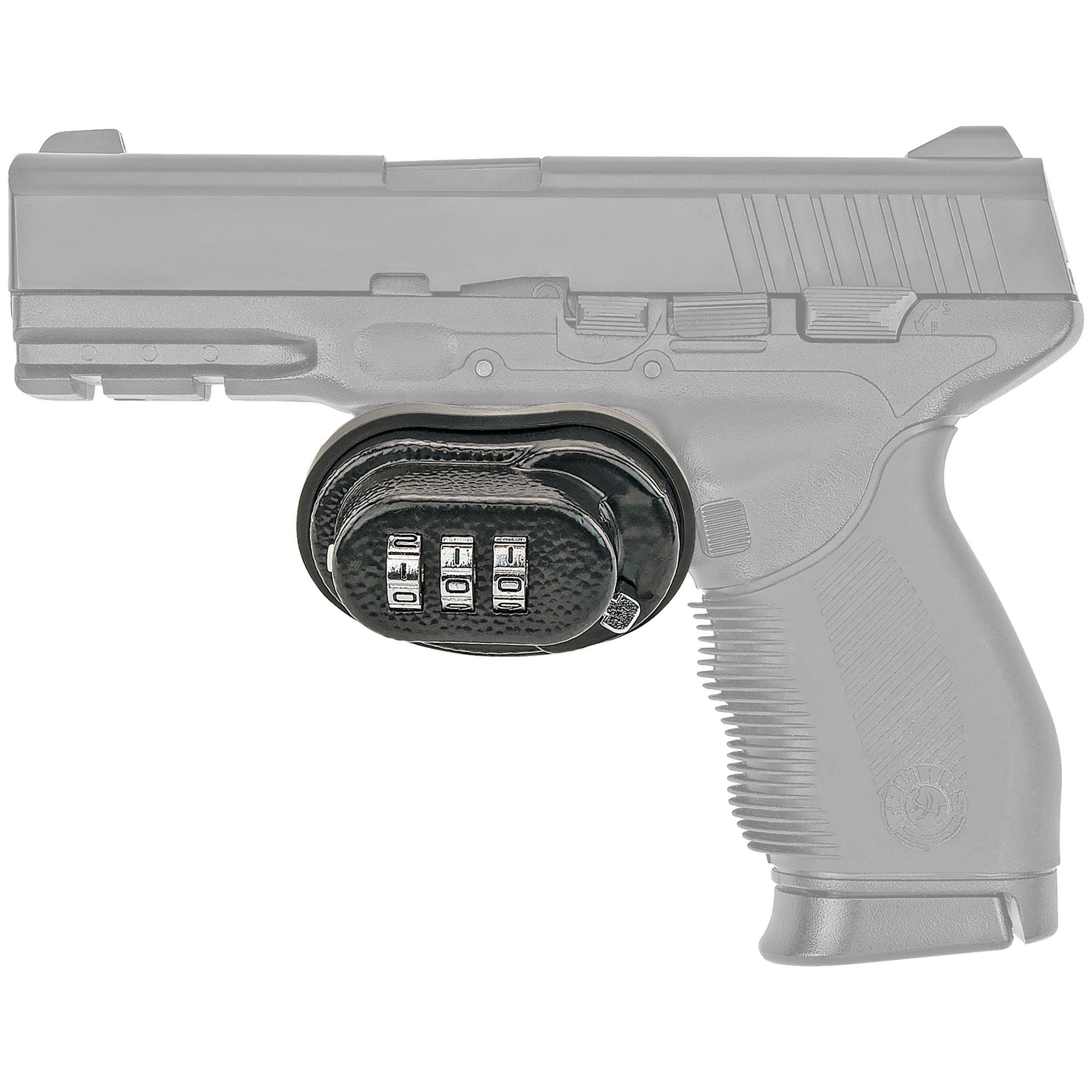3-Digit Combination Trigger Gun Lock