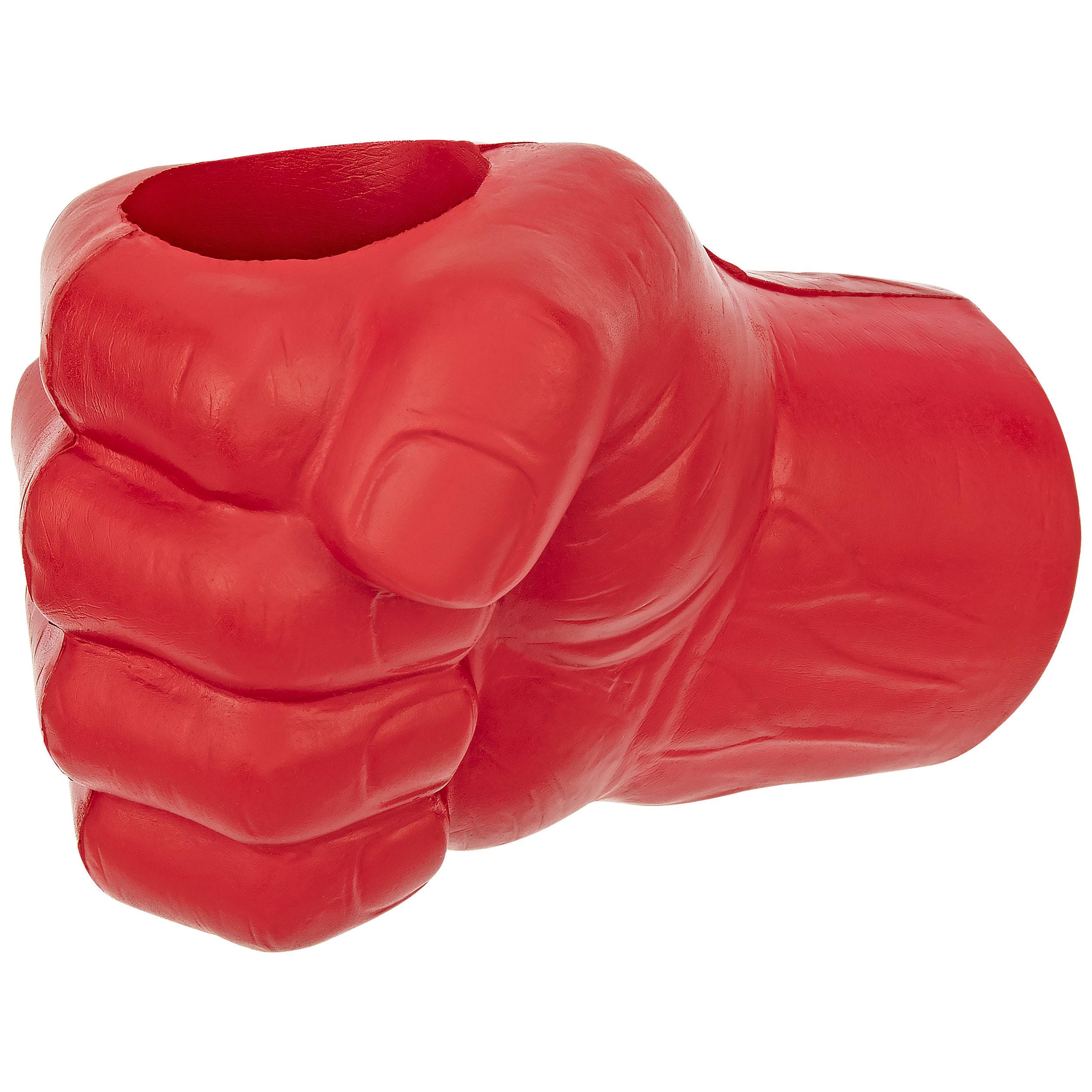 Fairly Odd Novelties Giant Foam Fist Hand Can Cooler Novelty, Right Hand, Red
