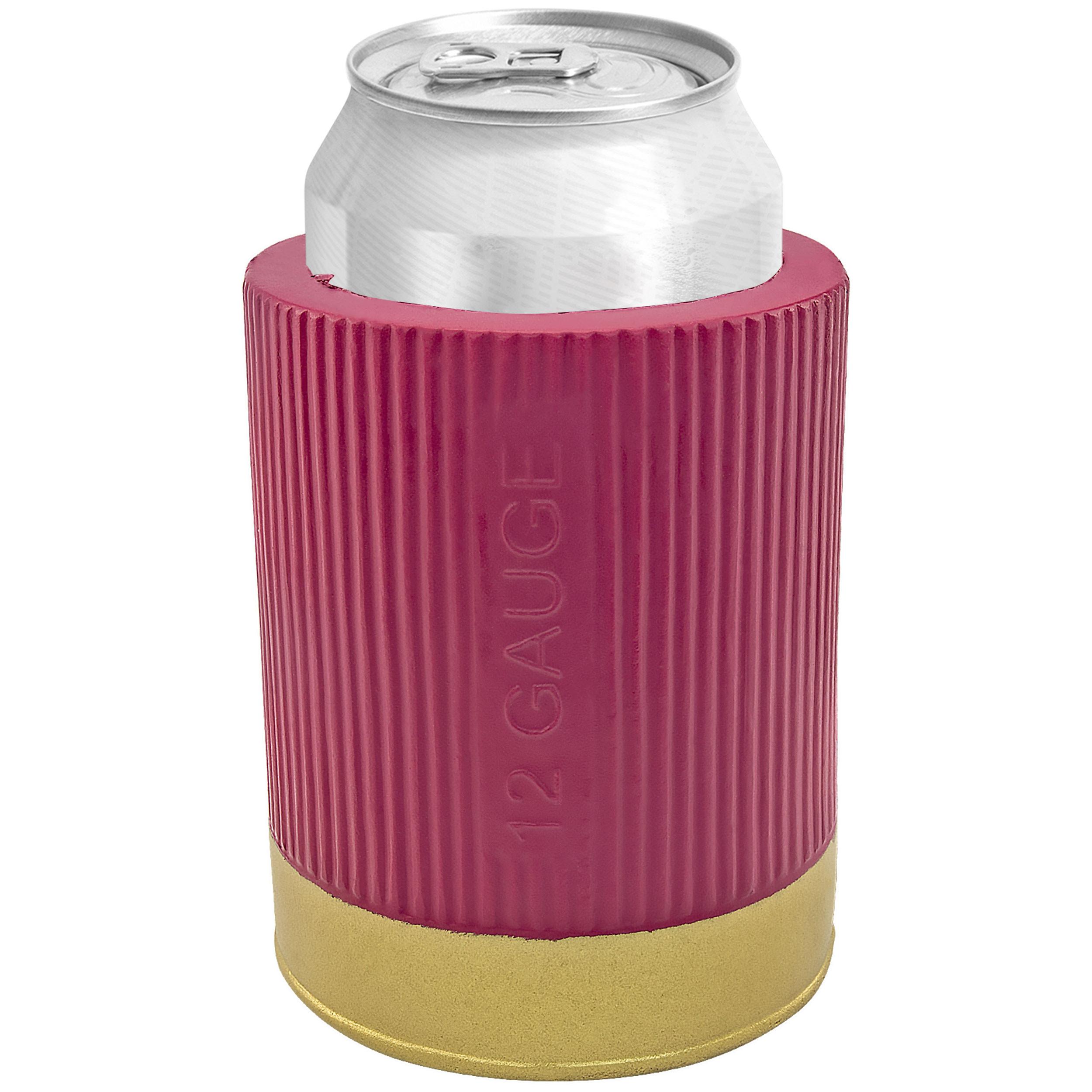 Fairly Odd Novelties FON-10220 12 Gauge Shotgun Can & Bottle Holder Funny Gun Beer Soda Gift Item, Burgundy