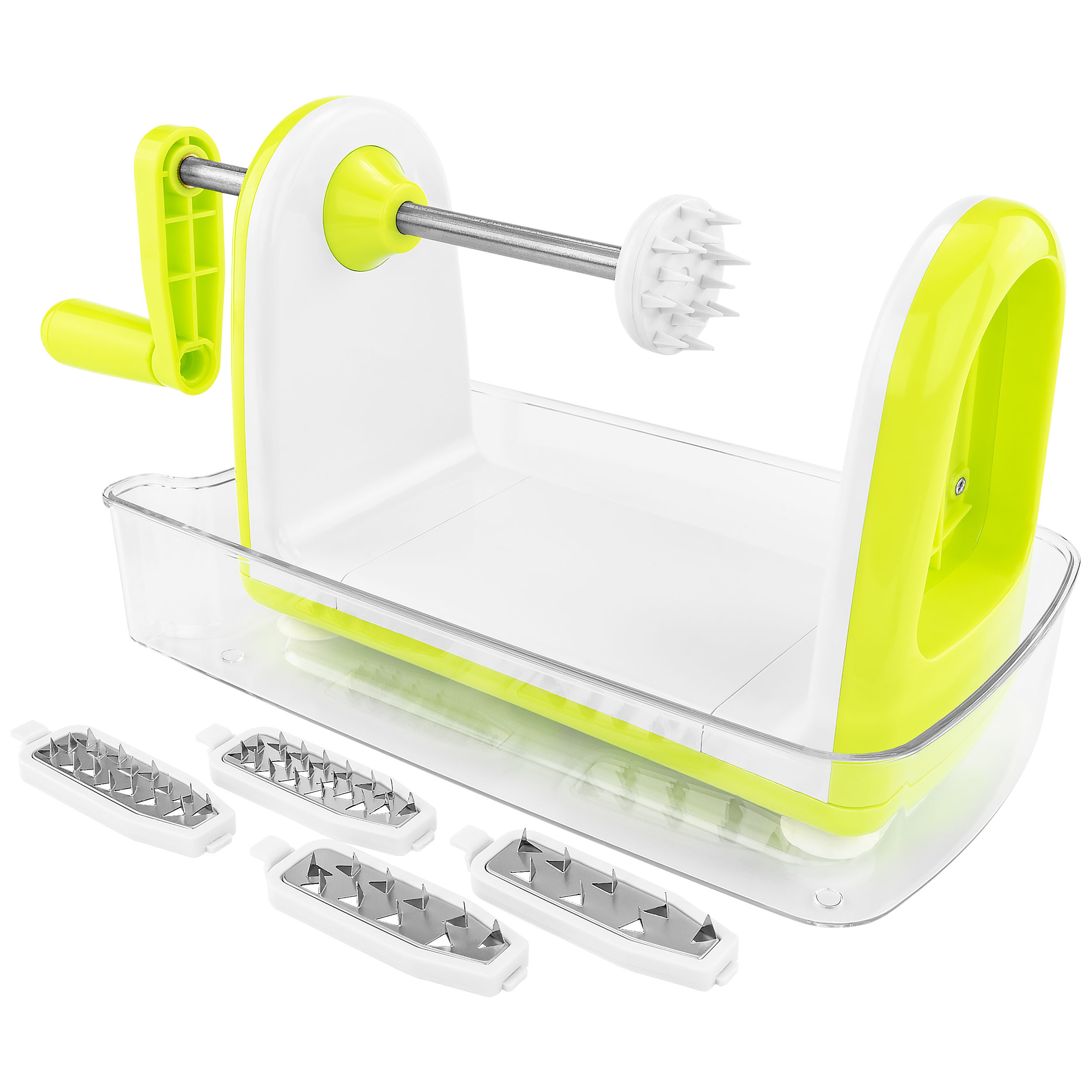 5 Blade Spiral Table Top Fruit Vegetable Slicer Zucchini Spaghetti Noodle Maker