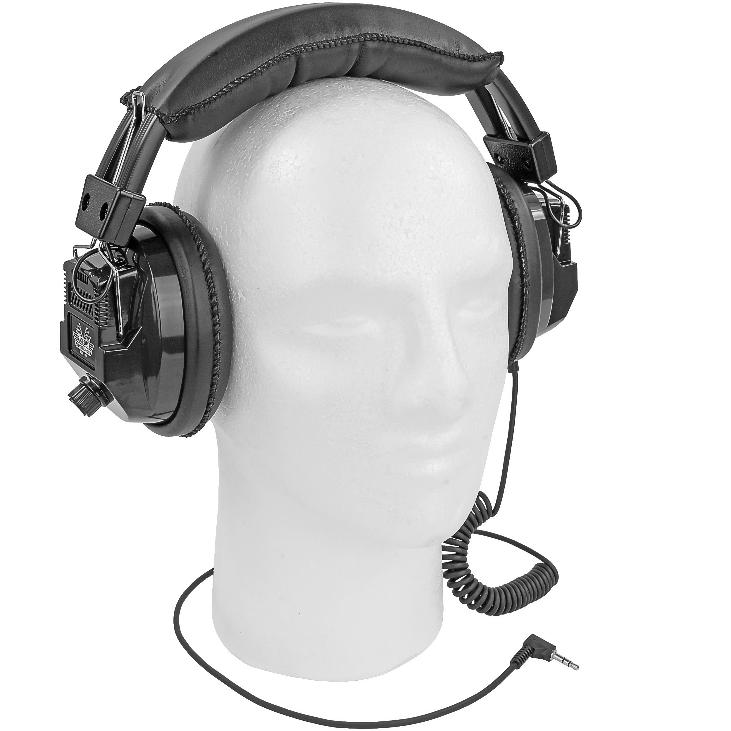 Over The Head Racing Scanner Headset Stereo
