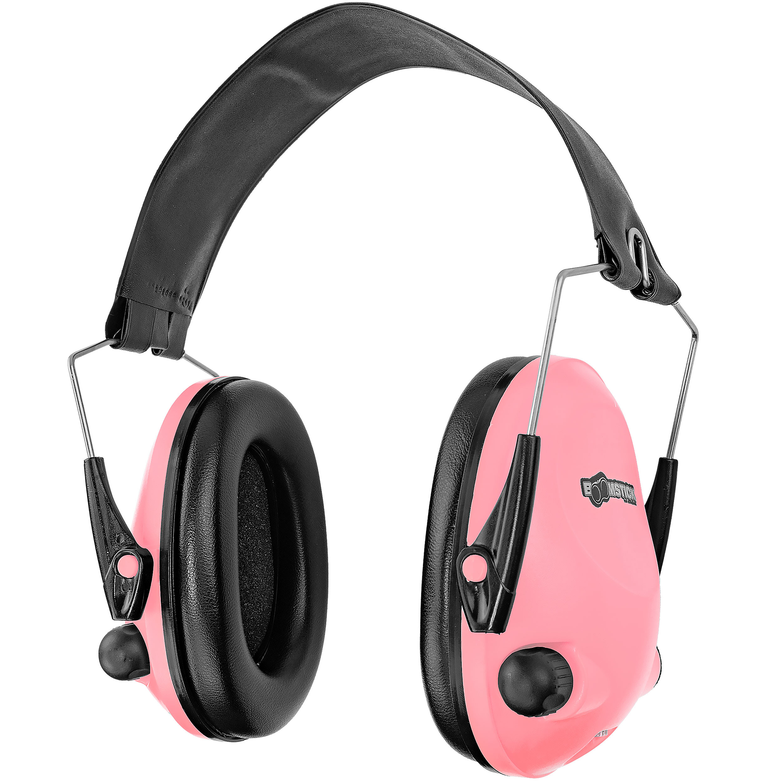 Boomstick Gun Accessories Electronic Ear Muff, Pink