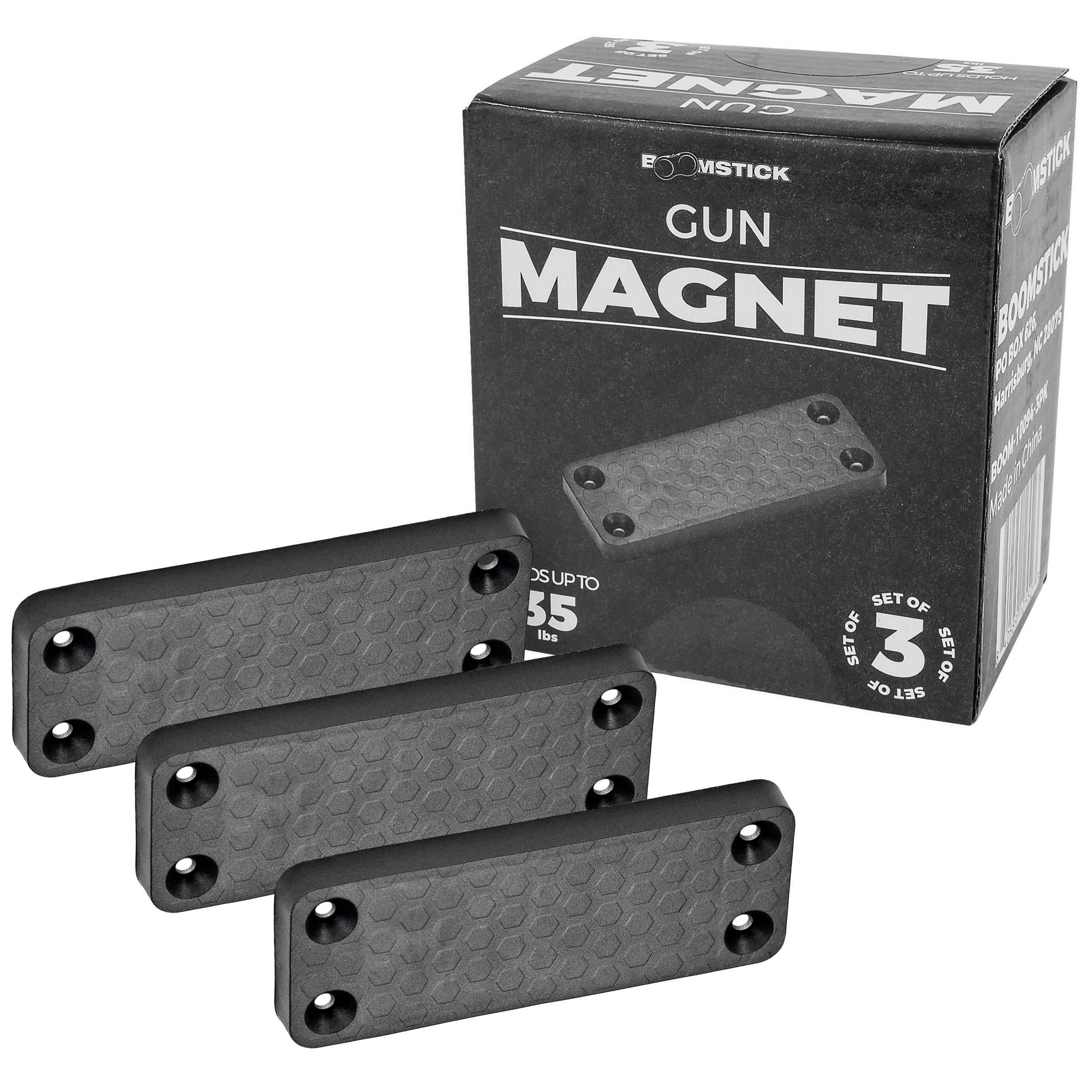 Gun Magnet 35lb 3 Pack