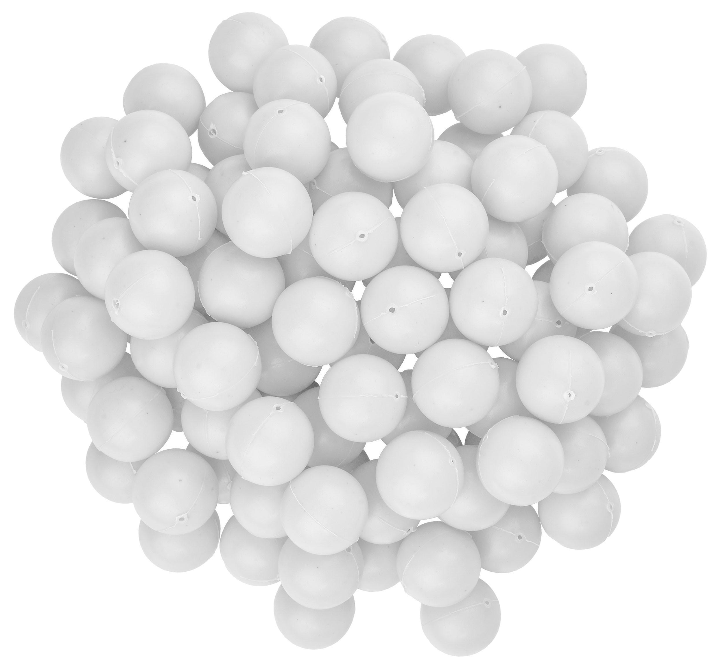 White Mini Beer Pong Balls