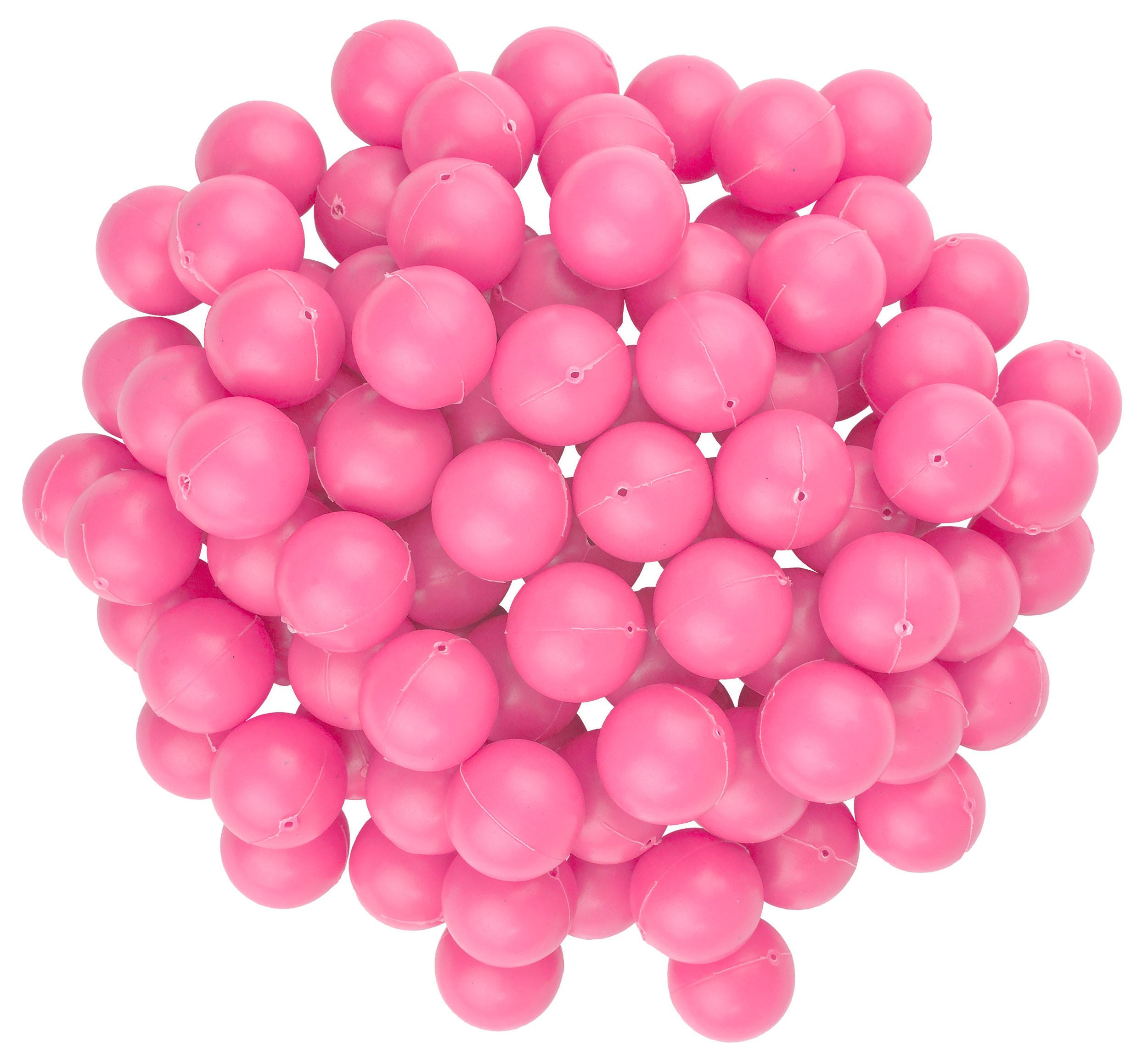 Pink Mini Beer Pong Balls