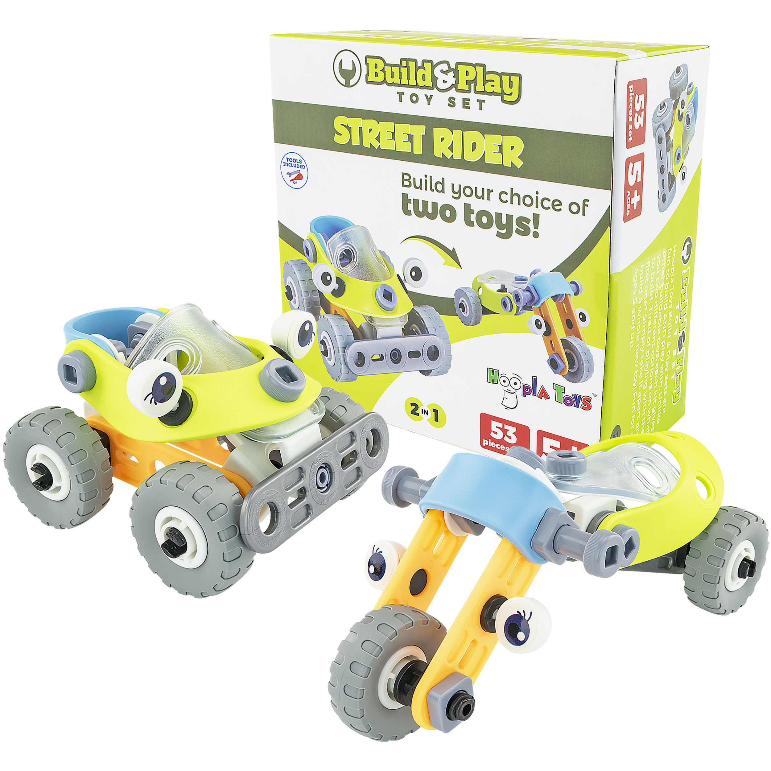 Build and Play Toy Set Box 2