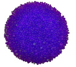 55 Pounds Loose Scented Silica Gel Beads - Lavender