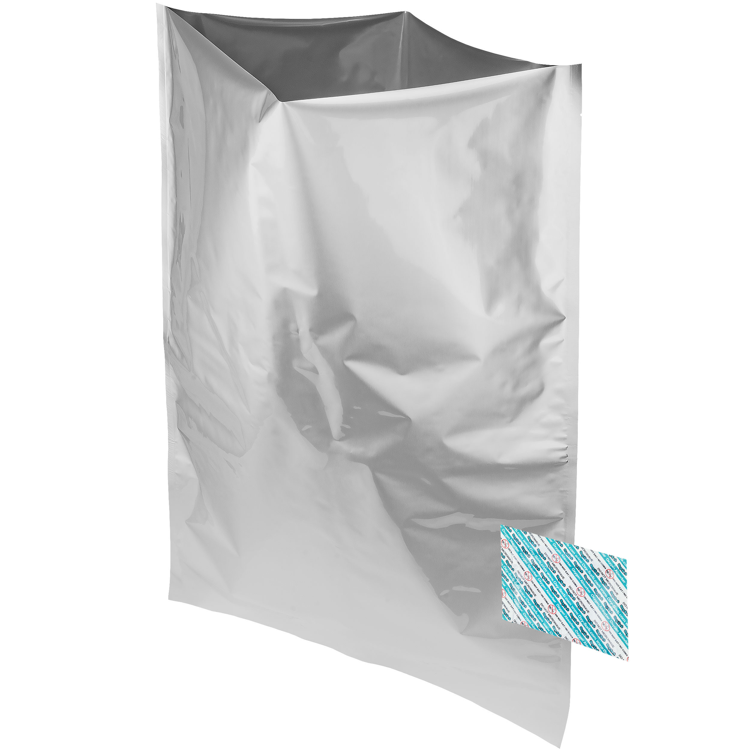Mylar Bags & Oxygen Absorbers for Dried Food & Long Term Storage by Dry-Packs, 5-Gallon, Pack of 20