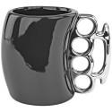 Black Knuckle Duster Ceramic Coffee Mug